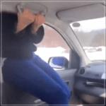 雪山 スキー場で車から乗り出し運転の動画が炎上?…危険過ぎ!
